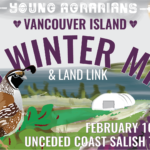 FEB 10-11: SHAWNIGAN LAKE, BC – Vancouver Island 5th Winter Mixer