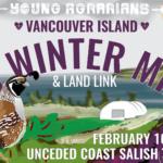 FEB 10-11: SHAWNIGAN LAKE, BC – Vancouver Island 5th Winter Mixer
