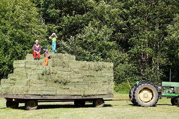 Glenora Farm Hay Wagon
