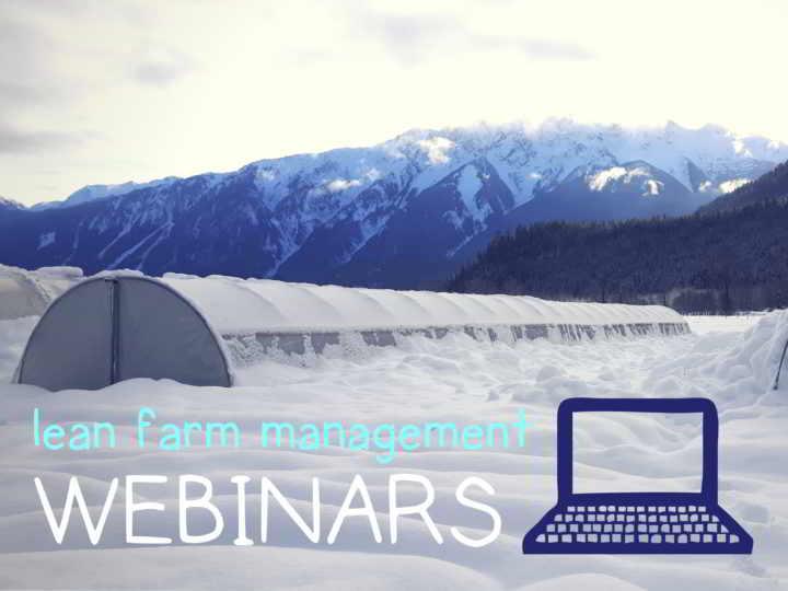 lean farm business management webinar with ben hartman