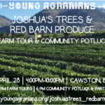 April 28: Cawston, BC – Joshua's Trees & Red Barn Produce Farm Tours, Bench Grafting Demonstration, & Potluck Party