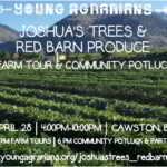 April 28: Cawston, BC – Joshua's Trees & Red Barn Produce Farm Tours, Bench Grafting Demonstration, & Potluck Party