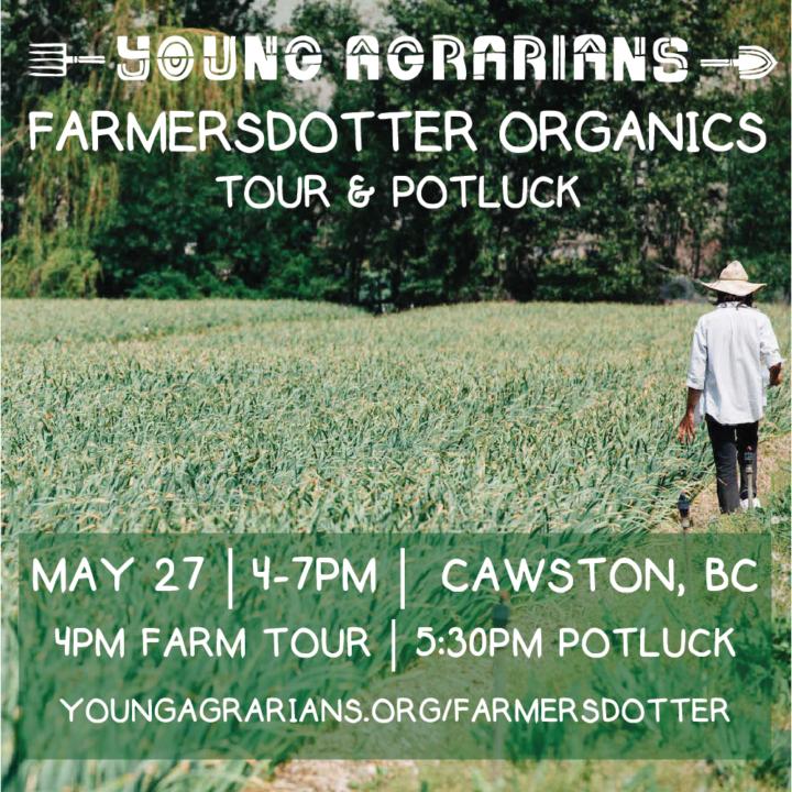 Farmersdotter Organics Square Graphic
