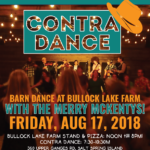 AUG 17: SALT SPRING ISLAND, BC – Bullock Lake Farm Contra Dance