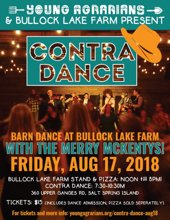 Bullock Lake Farm Contra Dance 2018