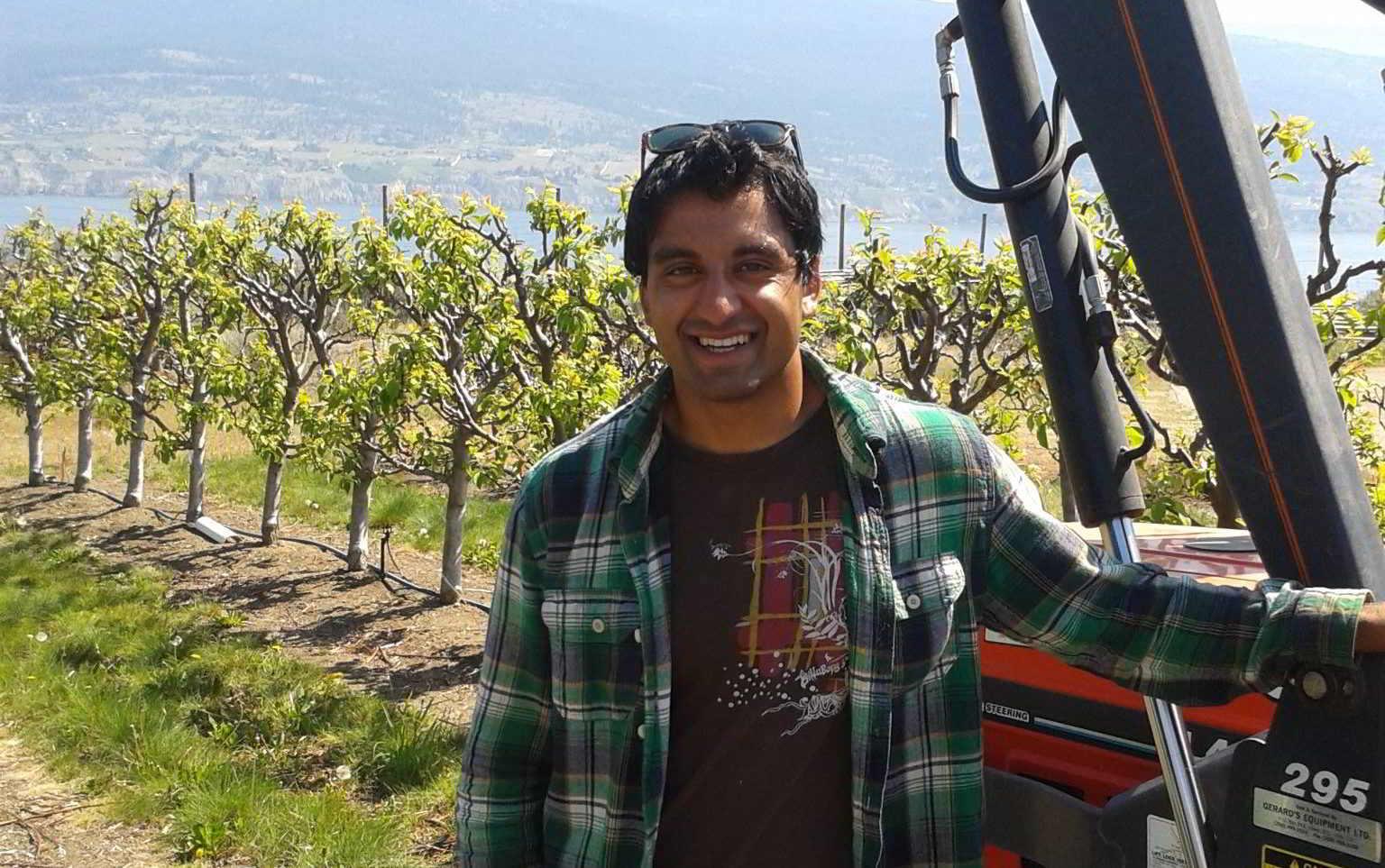 Young Agrarians Land Matcher Rajiv Dasanjh