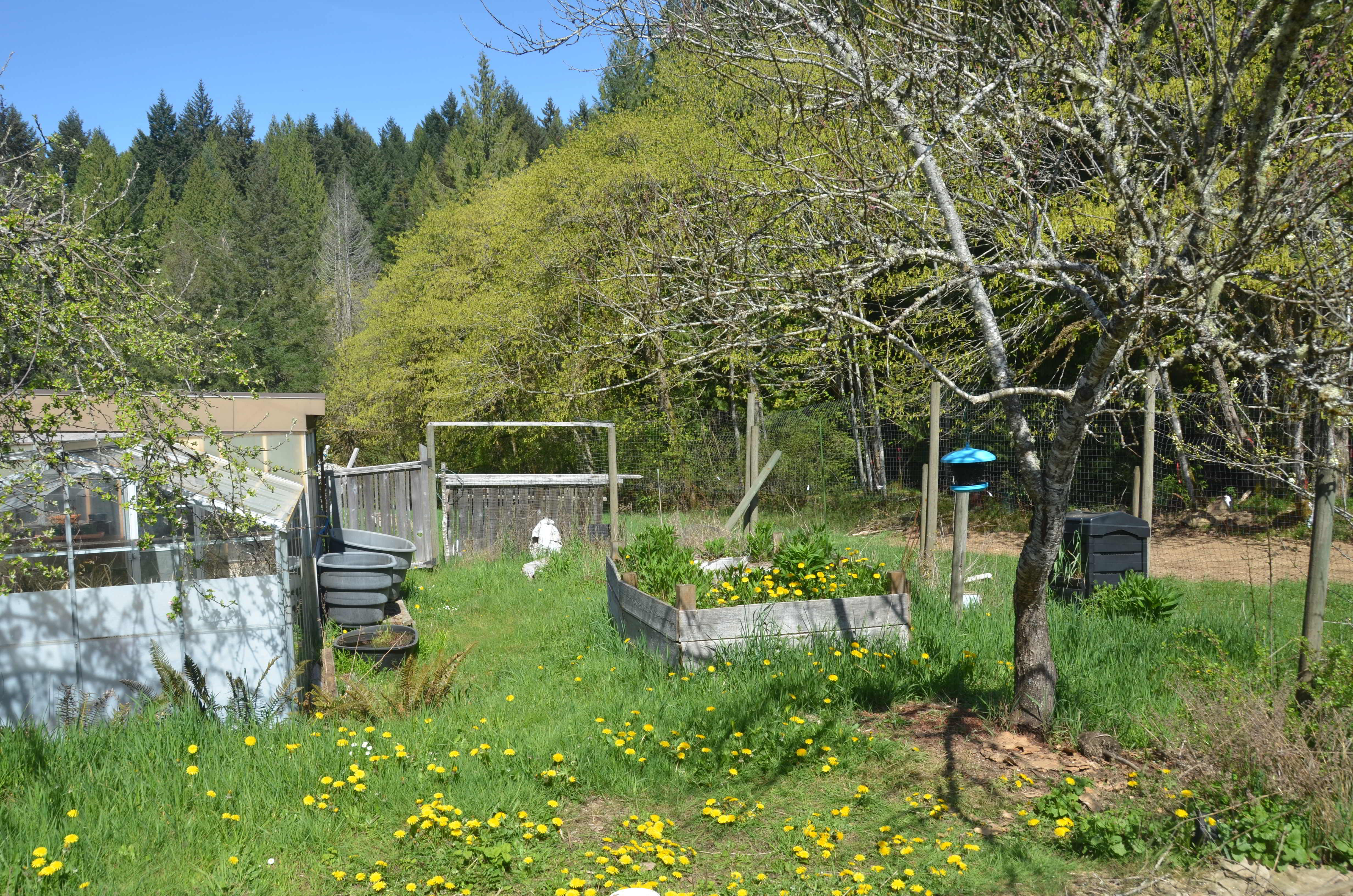 Garden beds at land opportunity