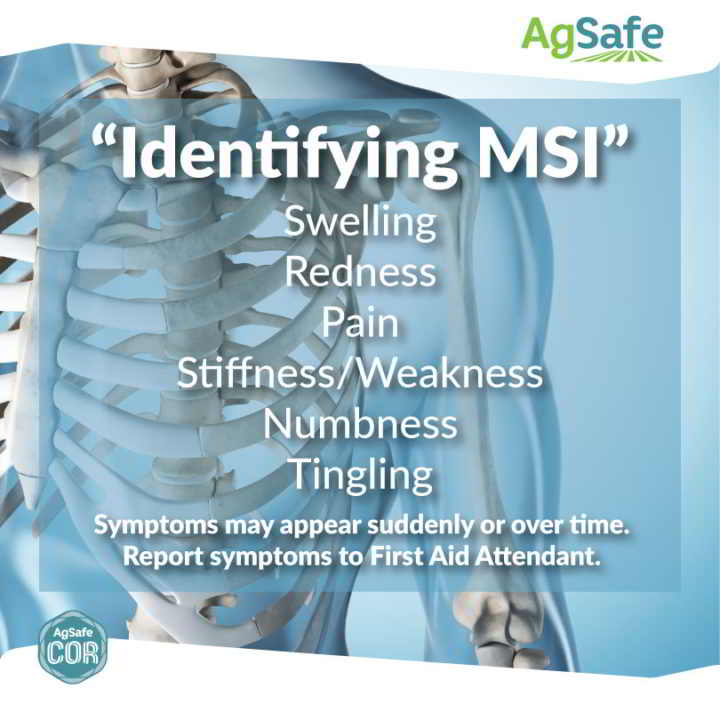 AgSafe - Identifying Musculoskeletal Injury