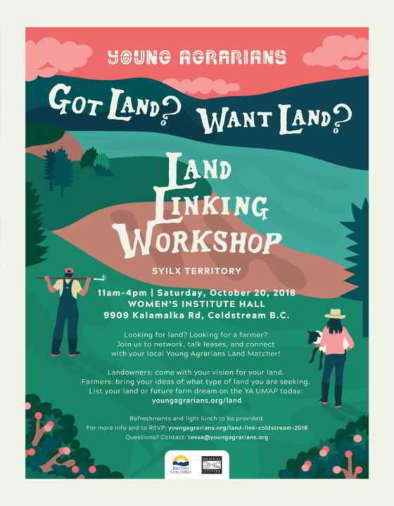 Okanagan Land Link Poster