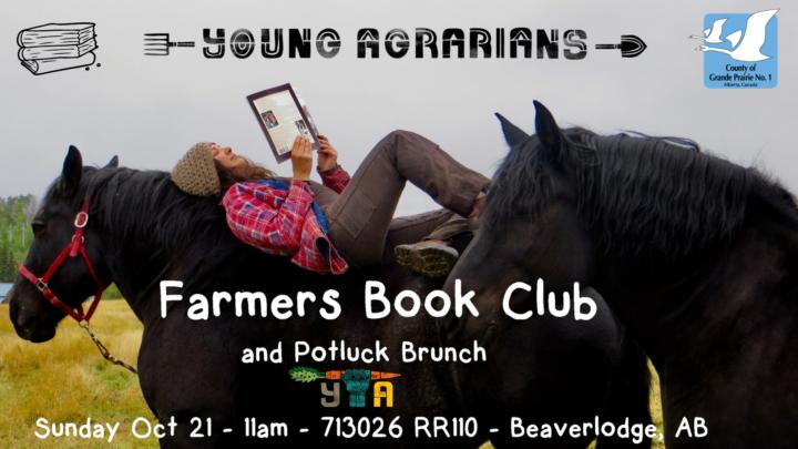 FARM BOOK CLUBand Potluck