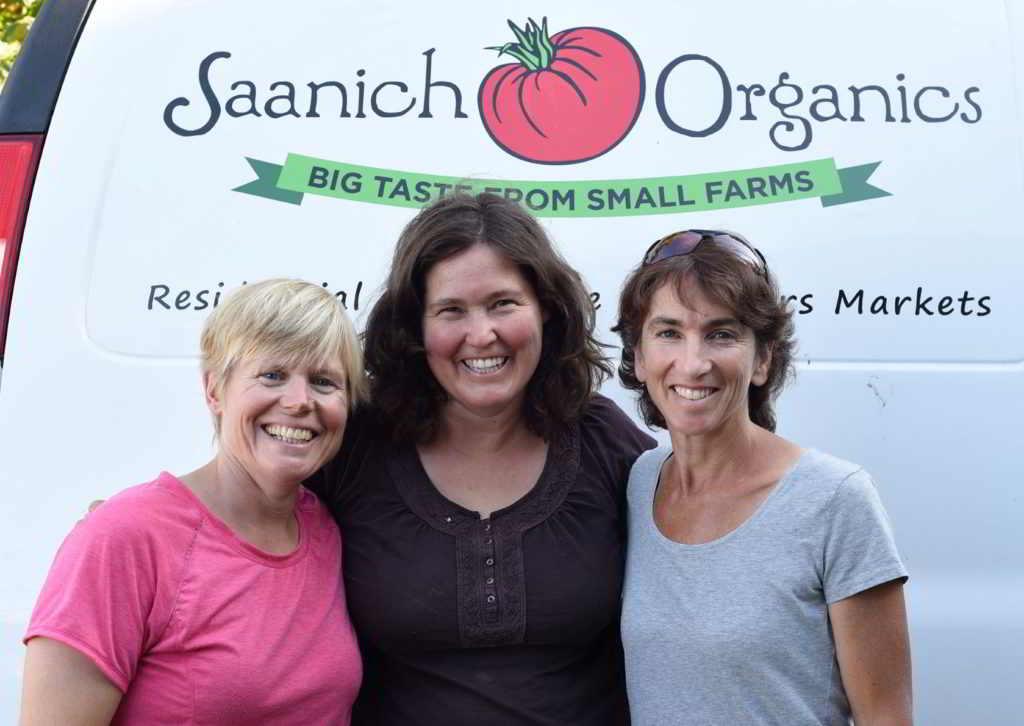 Saanich Organics founders