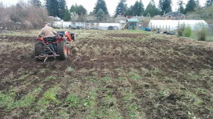 Allen - Tractor Work on Fields