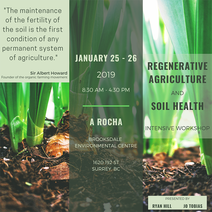 Regenerative Agriculture and Soil Workshop