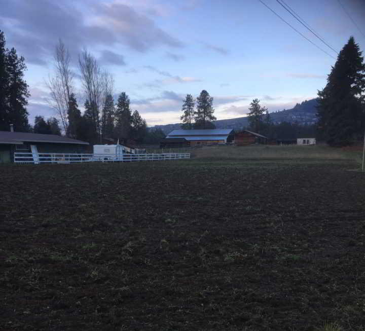 1.75 acre filed, prepped and ready to plant!