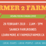Feb 28, 2019: SAANICH,  BC: Farmer2Farmer Gathering