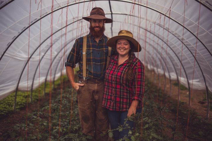 Scott and Emma of Bent Plow Farm
