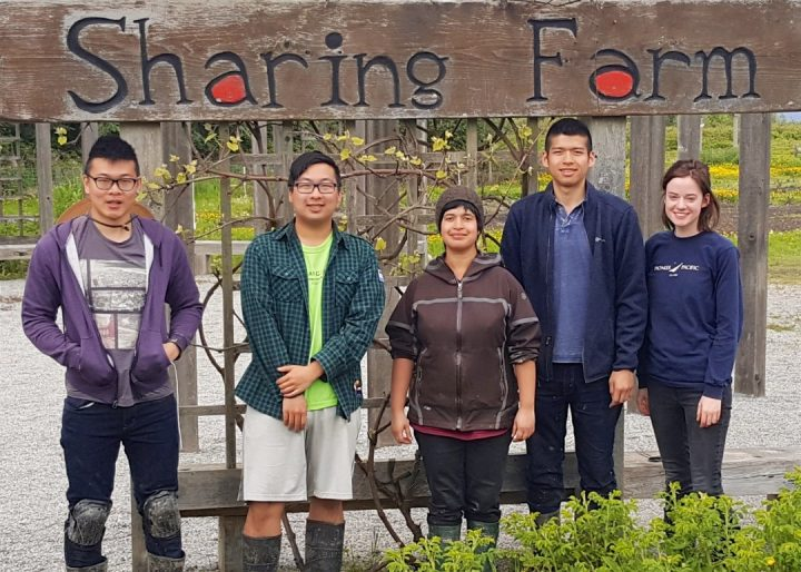 richmond sharing farm event interns