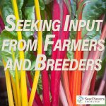 SURVEY: Understanding Farmers' Need for Seed!