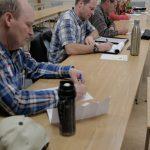 Participants hard at work