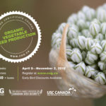 Organic Vegetable Seed Production Course