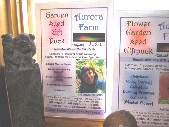 biodynamic seeds for sale, kootenays