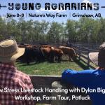 June 8+9 2019: Grimshaw, AB – Low Stress Livestock Handling Workshop with Dylan Biggs