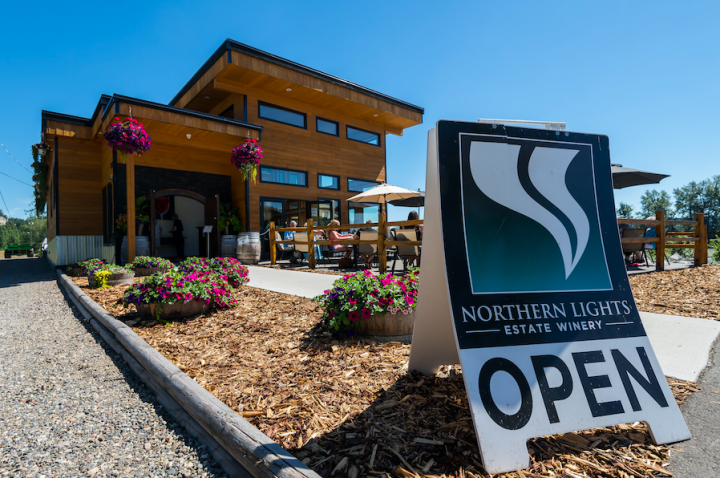 northern lights estate winery store front, farm job, prince george