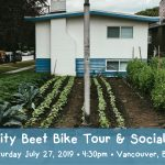 JULY 27, 2019: VANCOUVER, BC – City Beet Bike Tour & Social