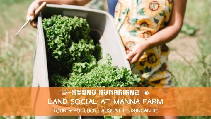 manna farm, land social, duncan, victoria