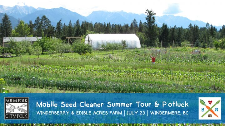 winderberry farm, edible acres, potluck, farm tour, windermere