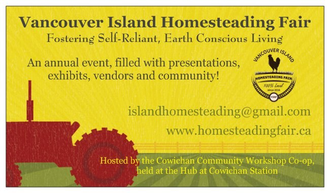 Vancouver Island Homesteading Fair