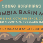 OCT 25-26, 2019: ROSSLAND, BC – Columbia Basin Mixer