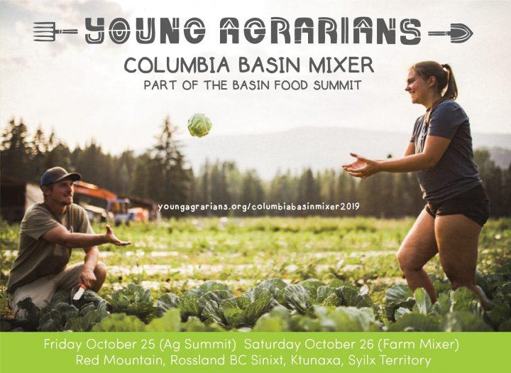 Columbia Basin, mixer, rossland bc, kootenay, kootenays