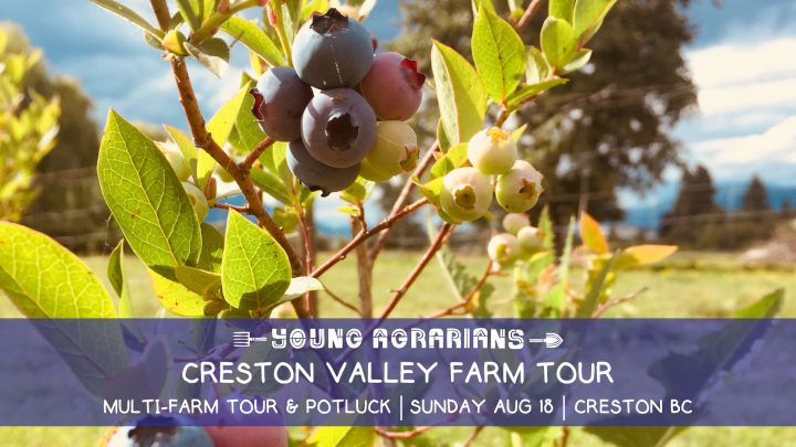 creston valley farm tour, farm tour, creston bc, august 18