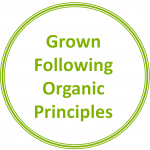 Grown Following Organic Principles