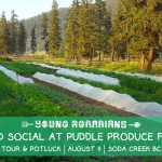 AUG 11, 2019: SODA CREEK, BC – Land Social! Farm Tour, Potluck & Leasing Discussion at Puddle Produce Farm