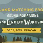 DEC 1, 2019: Cowichan, BC – VANCOUVER ISLAND LAND LINK