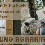 OCT 12, 2019: WOODBEND, AB – FARMER DELL FARM TOUR & POTLUCK