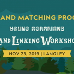 NOV 23, 2019: LANGLEY, BC – Land Linking Workshop