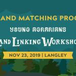 NOV 23, 2019: LANGLEY, BC – Land Linking Workshop