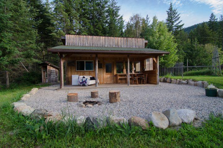Cabin for land seeker