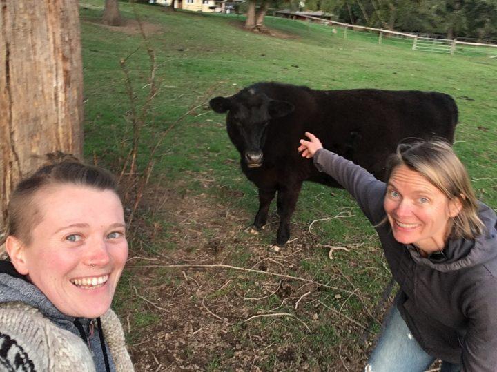 Katie Ralphs with her Mentor DeLisa Lewis.