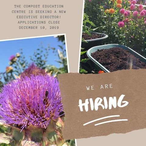 compost education centre, executive director, victoria bc