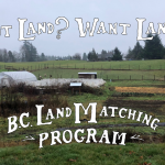 FILLED – LAND OPPORTUNITY: 1 acre established market garden for lease – Cowichan Bay, BC