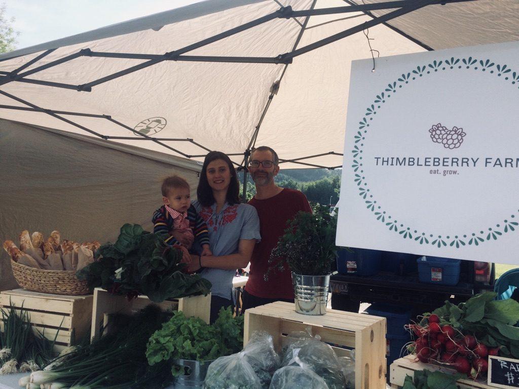 thimbleberry farm, terrace, farmers market