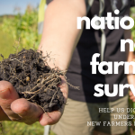 Take the Survey: 2020 National New Farmer Survey