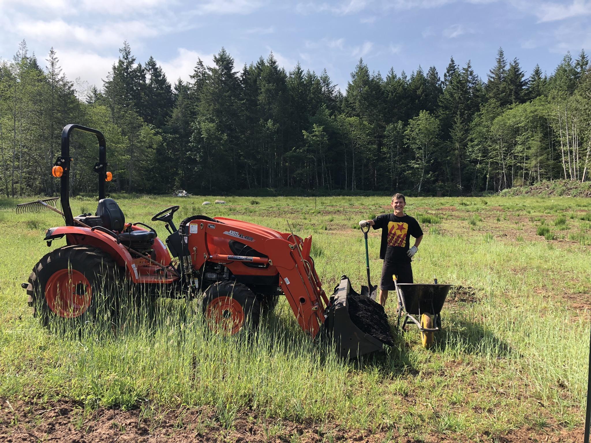 summer soul farm, hornby island, farm job, vancouver island