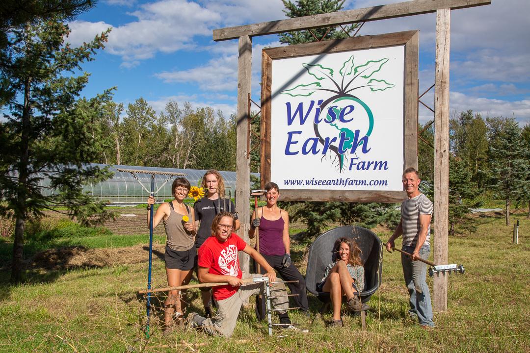 wise earth farm kelowna bc farm job