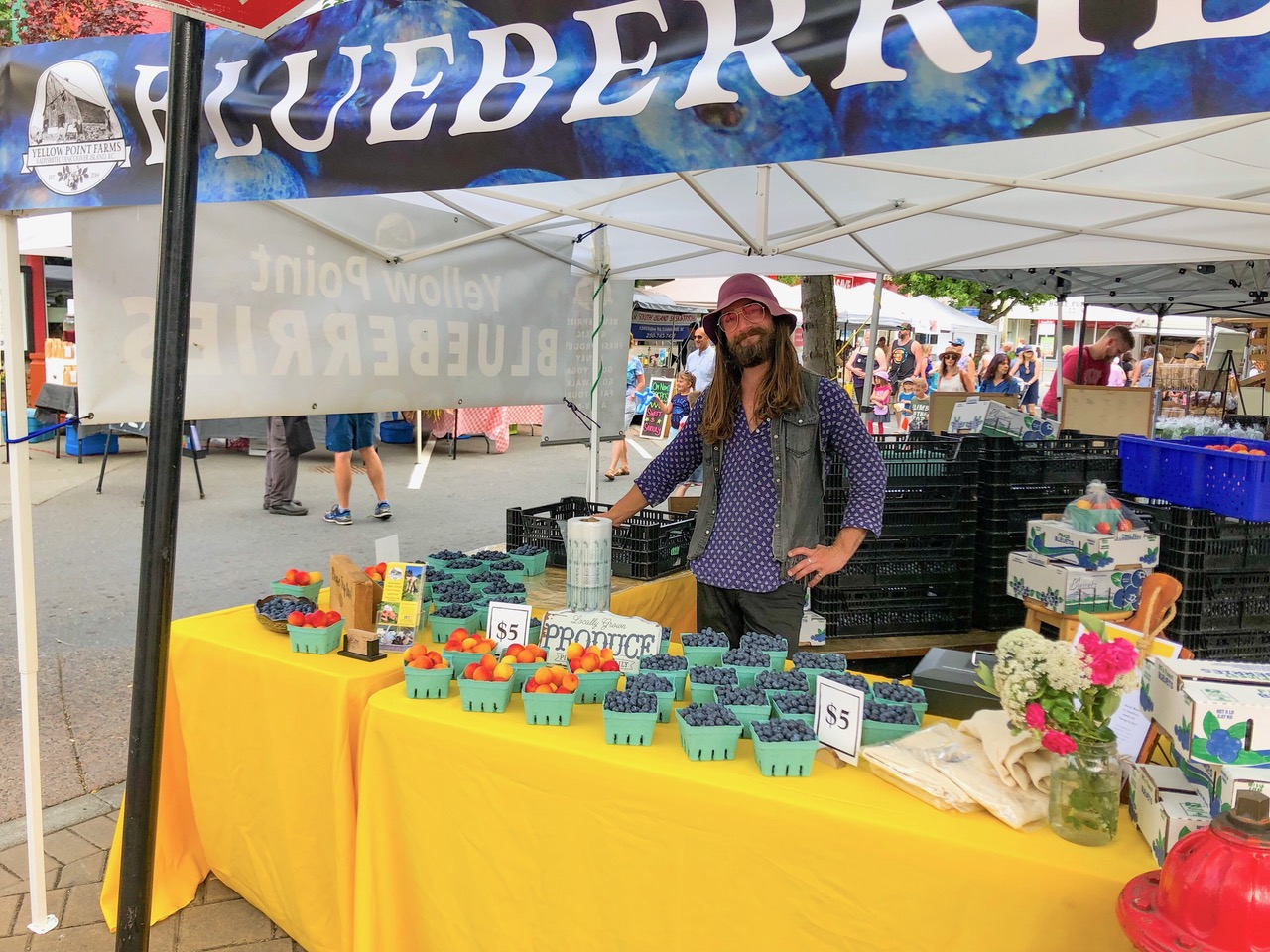 market at yellow point farm job ladysmith vancouver island young agrarians
