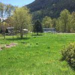 LAND OPPORTUNITY: Flat, fenced land with water access in Slocan Park, BC